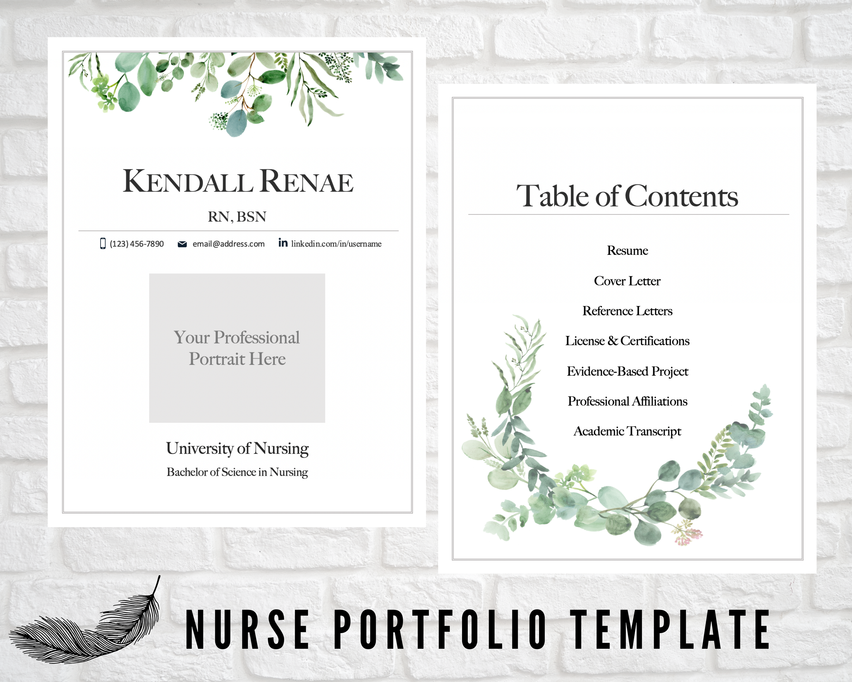 Pin On Nursing Portfolio
