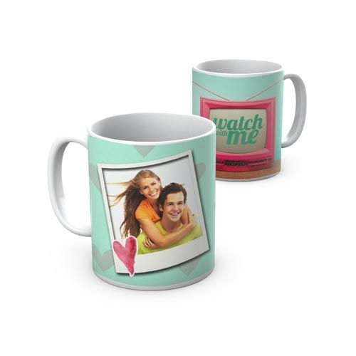 "Caneca ""Watch with Me"". ""Watch with  Me"" Mug."