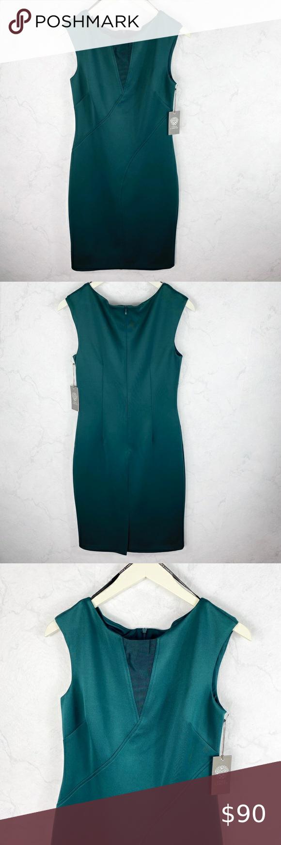 Vince Camuto Mesh Scuba Sheath Dress In 2020 Sheath Dress Clothes Design Vince Camuto Dress [ 1740 x 580 Pixel ]