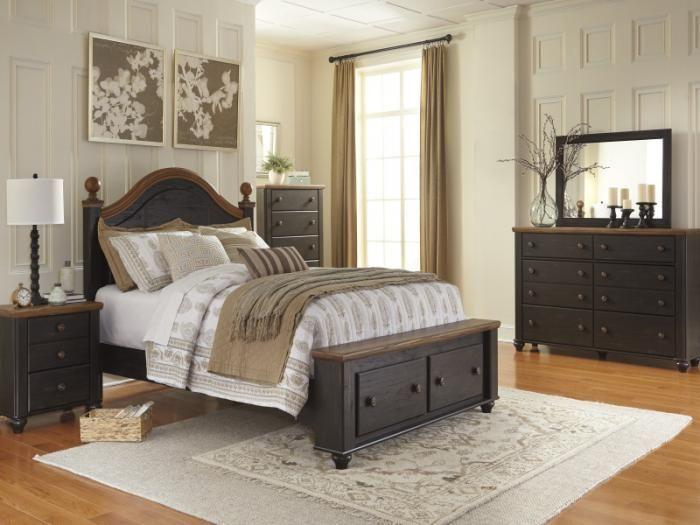 Rustic Bedroom Furniture, Taft Furniture Saratoga