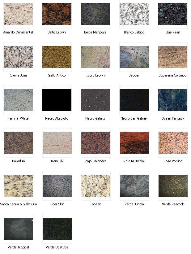 Tipos de granito dicas pinterest m rmore marmore e - Tipos de granito ...