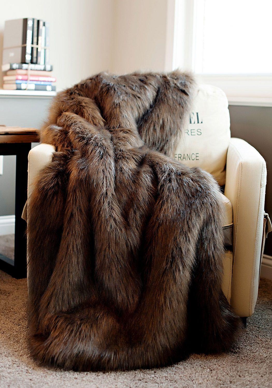 Throw Throws Blanket Fur