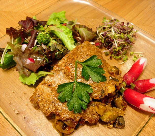 Lasagne végétarienne sans lait, sans blé Ecole de cuisine ...