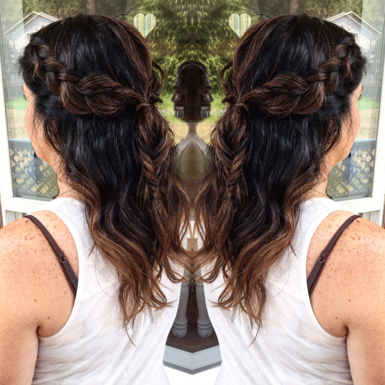 Braided boho hair for moms baby shower Special Occasion Hairstyles, Mom  Hairstyles, Mom And