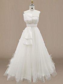 Strapless wedding Gown Pattern