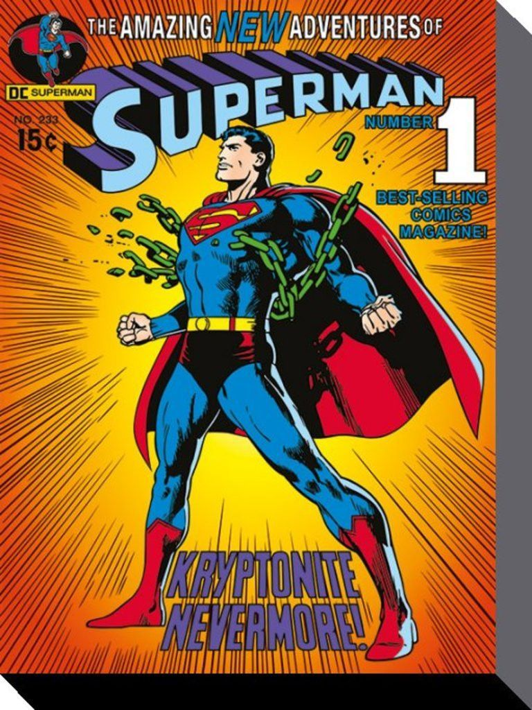 Superman - DC Comics - Kryptonite - Official Canvas Print