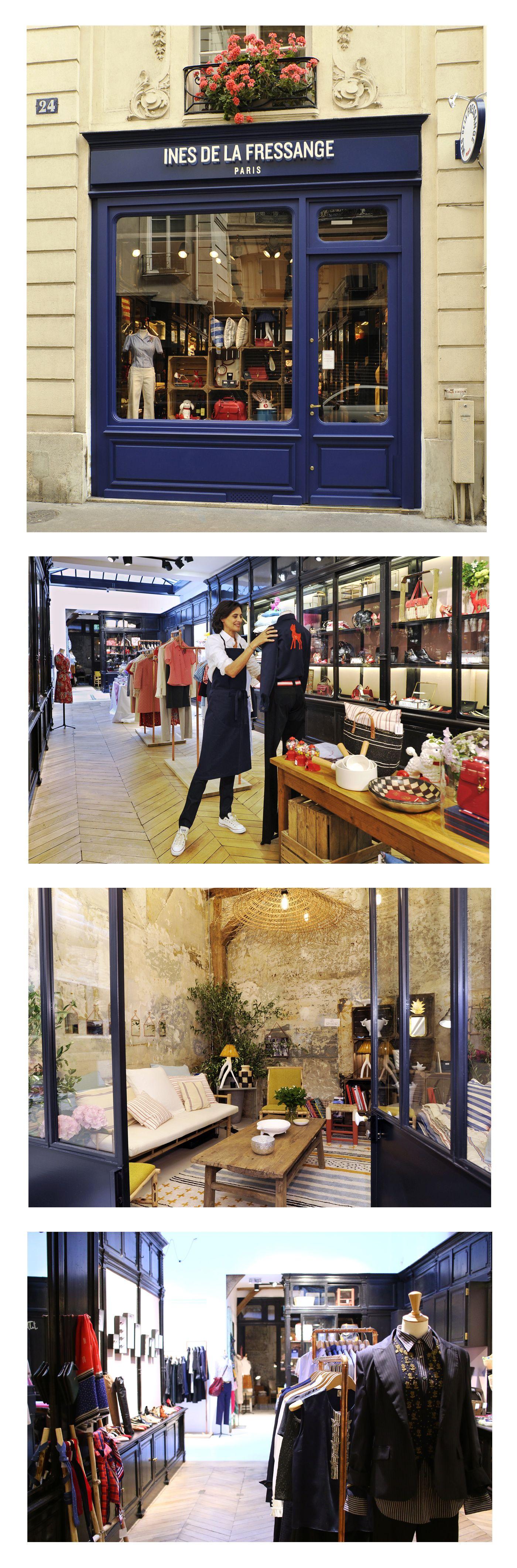 INES DE LA FRESSANGE - LA MARQUE - La Boutique | ines | Pinterest ...