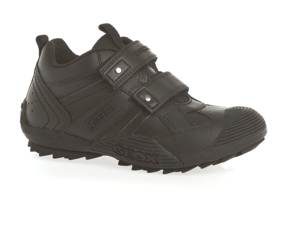 completar materno labio  Geox J Savage G Boys Trainer School Shoes Size 28 29 30 31 33 35 36 37  Velcro