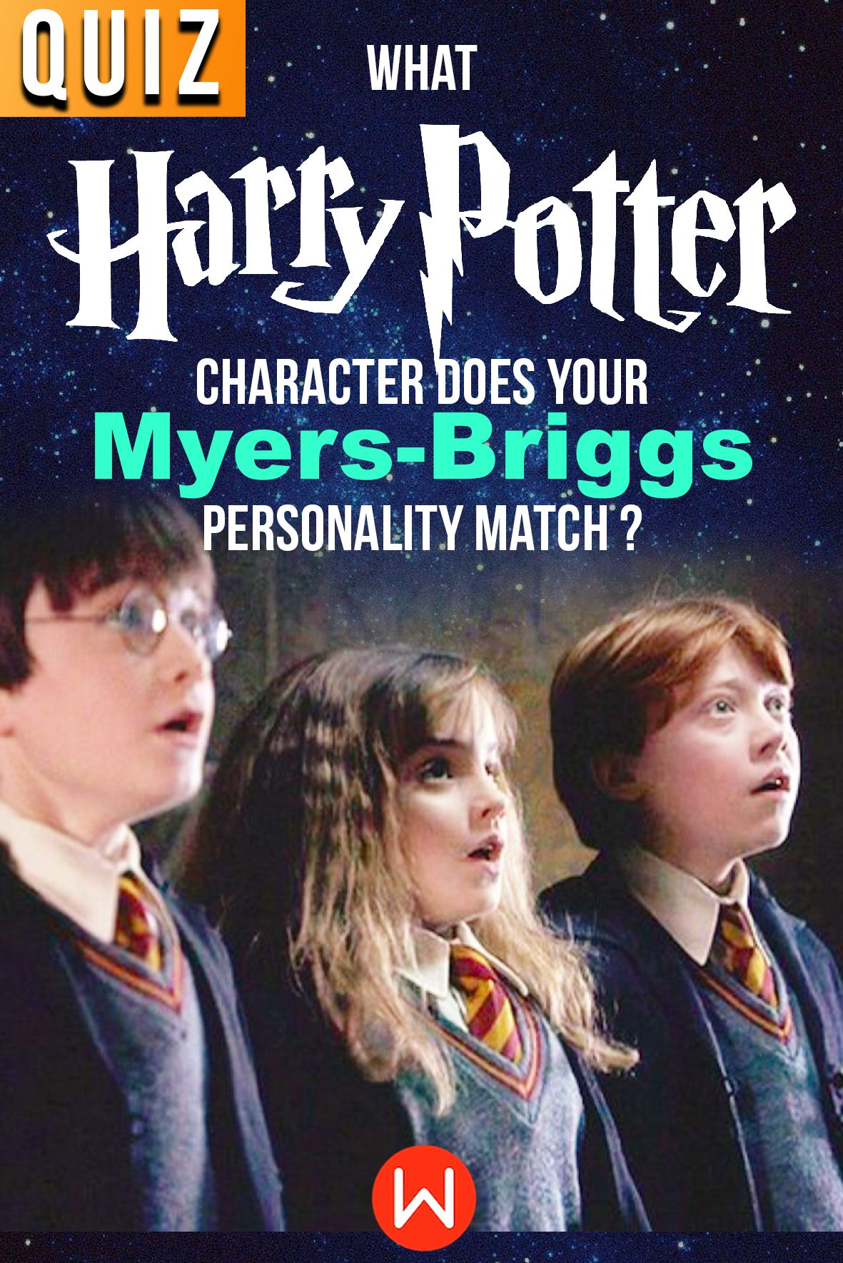 Quiz What Harry Potter Character Does Your Myers Briggs Personality Match In