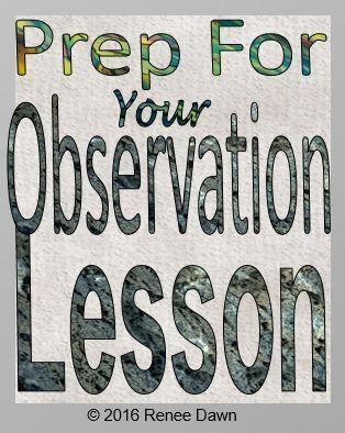 The Perfect Lesson Plan Teacher Evaluation Guide Teacher