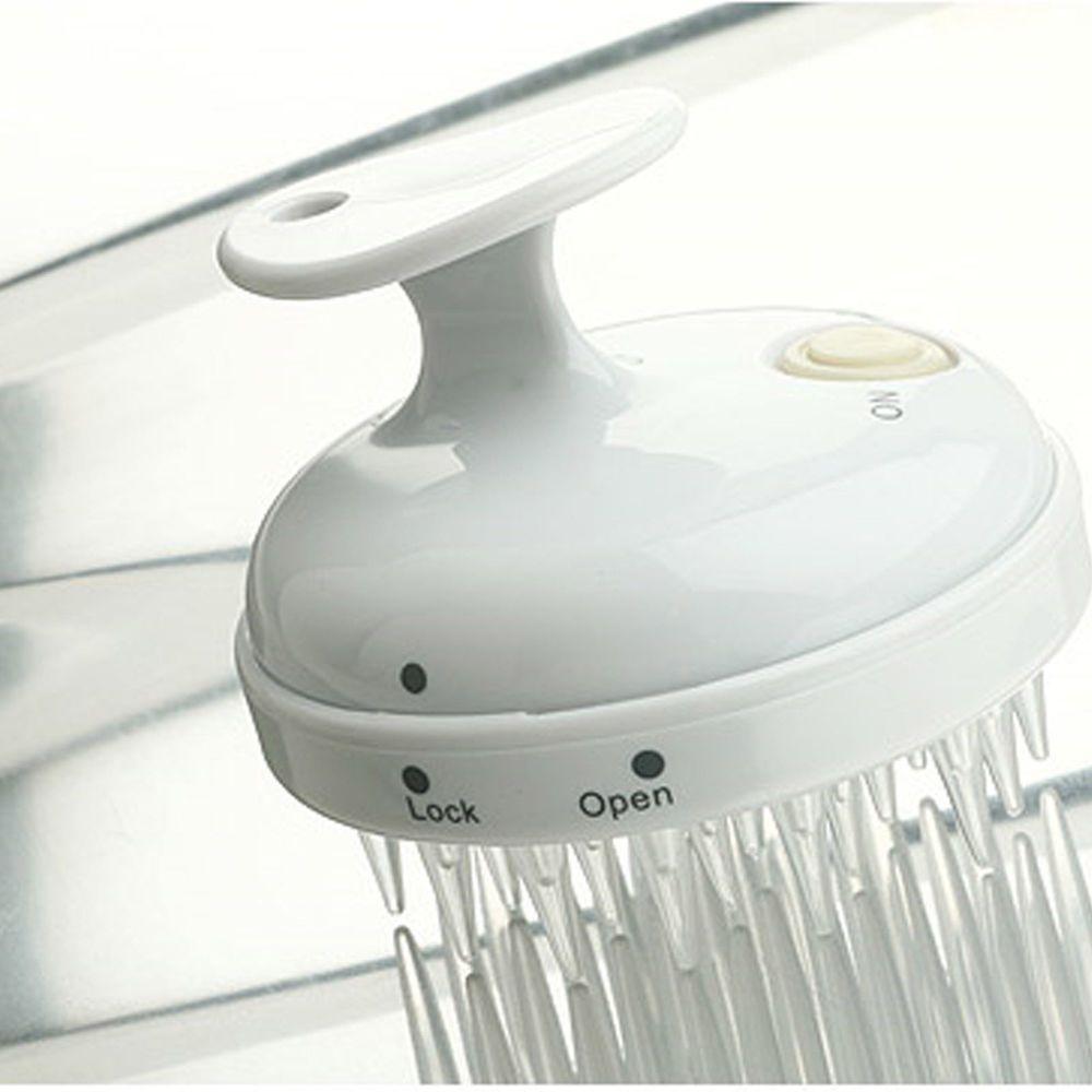 Waterproof Electric Scalp Massager Head Hair Care Shampoo Comb Brush Vibrating #SOOSIA