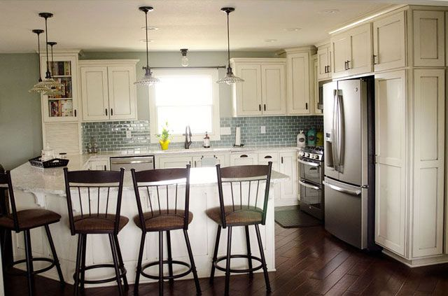 Kitchen Remodel - From dark and dated to bright and beautiful, the ...