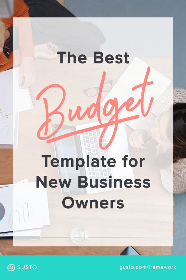 New Business Owner? This Budget Template Has Everything You Need