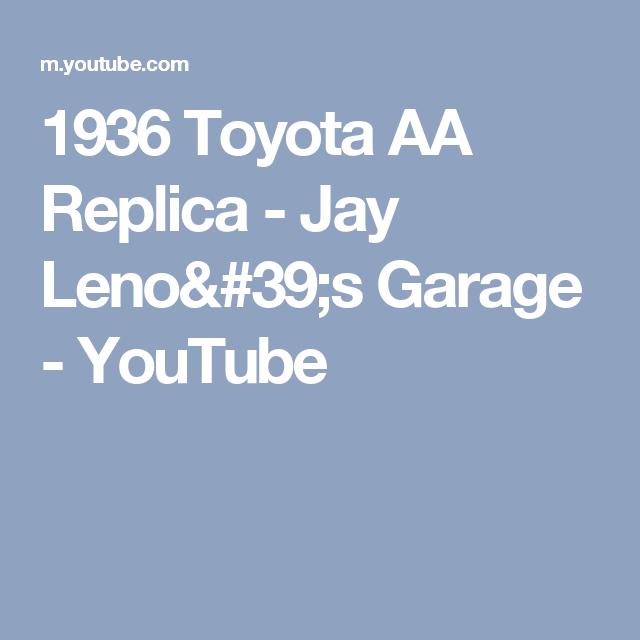 1936 Toyota AA Replica