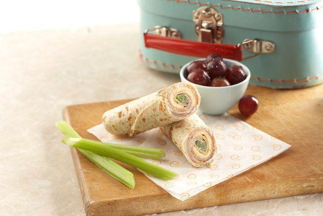 Cheesy Tortilla Roll-Up Snack