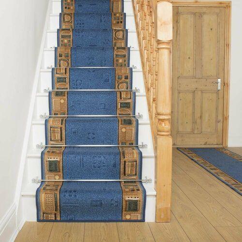 Rosalind Wheeler Teppich Almendarez in Blau | Wayfair.de