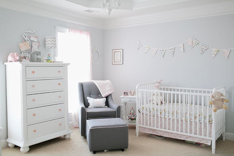 The Prettiest Nurseries EVER Pink Grey Nursery And Chic Nursery