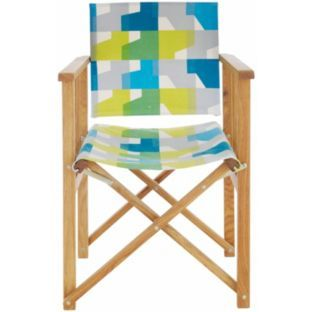 Admirable Buy Habitat Africa Folding Chair Sling Green At Argos Co Lamtechconsult Wood Chair Design Ideas Lamtechconsultcom