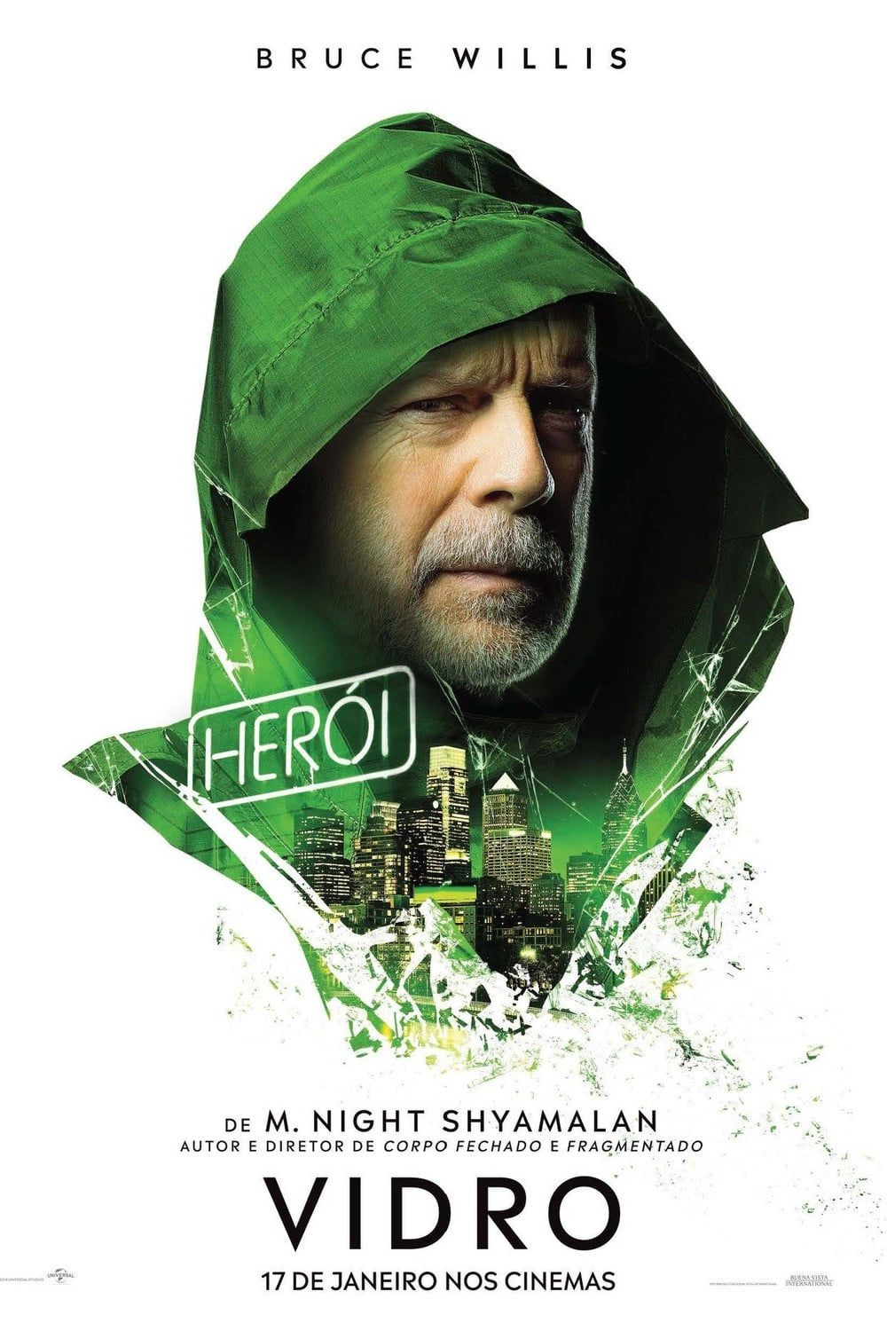 Eng Sub Glass Full Movie Maxhd Online 2019 Free Download 720p 1080p Movie Posters Bruce Willis Full Movies