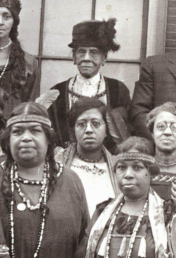 Photo of Black and Brown Native Americans