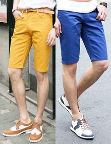 Today's Hot Pick :カラーハーフチノパンツ http://fashionstylep.com/SFSELFAA0011203/top3666jp1/out ベーシック