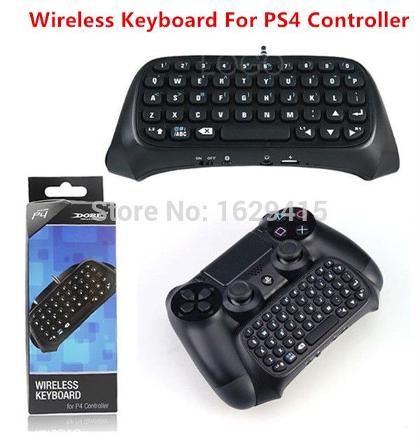 GameMod <font><b>1</b></font> pcs Black Mini Bluetooth Wireless Keyboard Joystick Chatpad for Sony <font><b>Playstation</b></font> <font><b>4</b></font> PS4 Wireless Controller Price: USD 16.99  | http://www.cbuystore.com/product/gamemod-font-b-1-b-font-pcs-black-mini-bluetooth-wireless-keyboard-joystick-chatpad-for-sony-font-b-playstation-b-font-font-b-4-b-font-ps4-wireless-controller/10168222 | UnitedStates