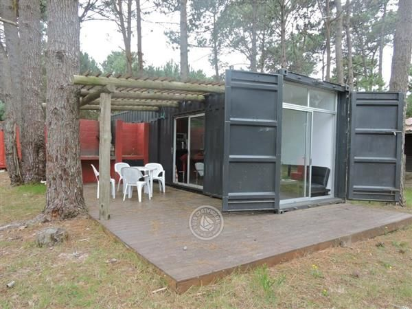 Casa de praia em container 3 casa container pinterest house shipping container houses - Mobile shipping container homes ...