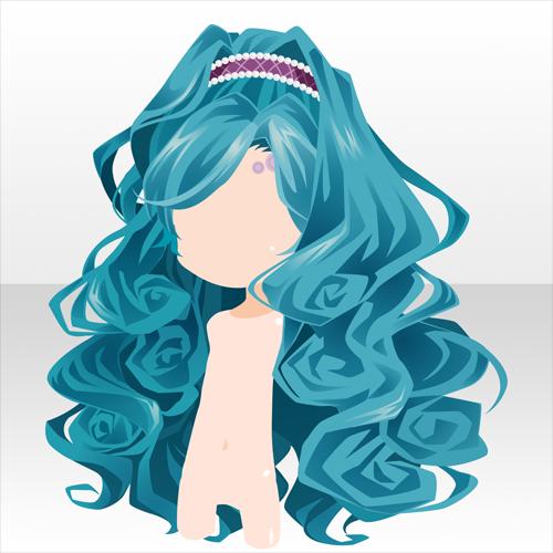 Anime hair Chibi hair