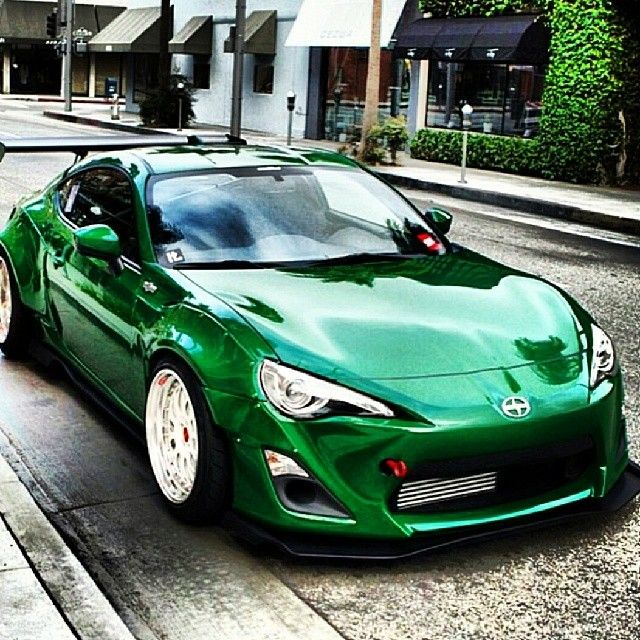 FR-S Friday And This Mean Green Machine Is Pure Glory