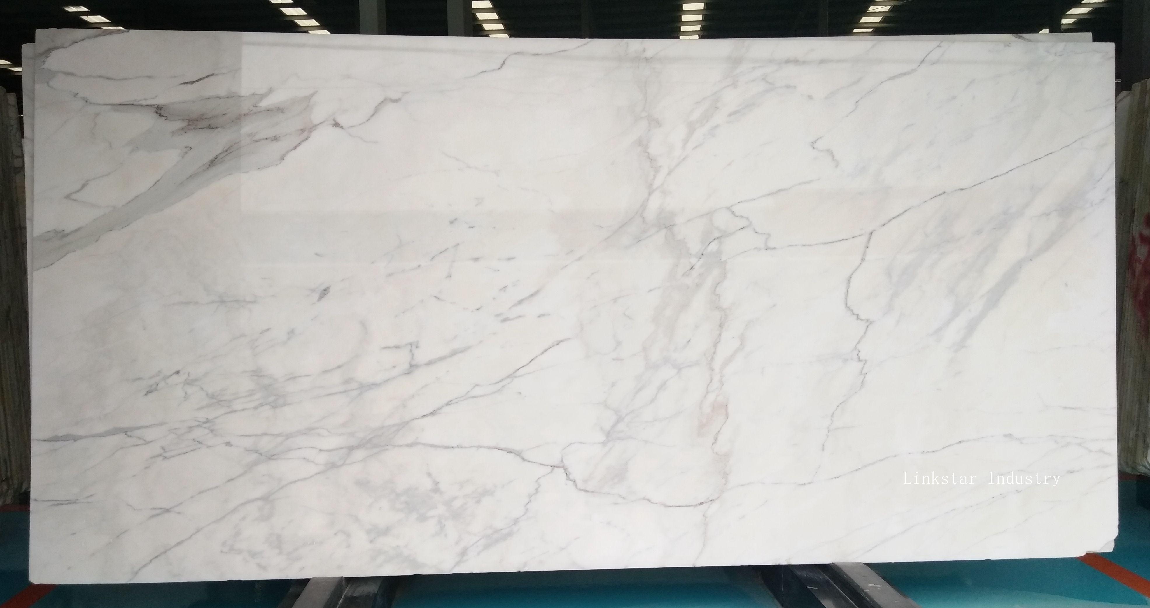 Calcatta White Stone Slab Tile