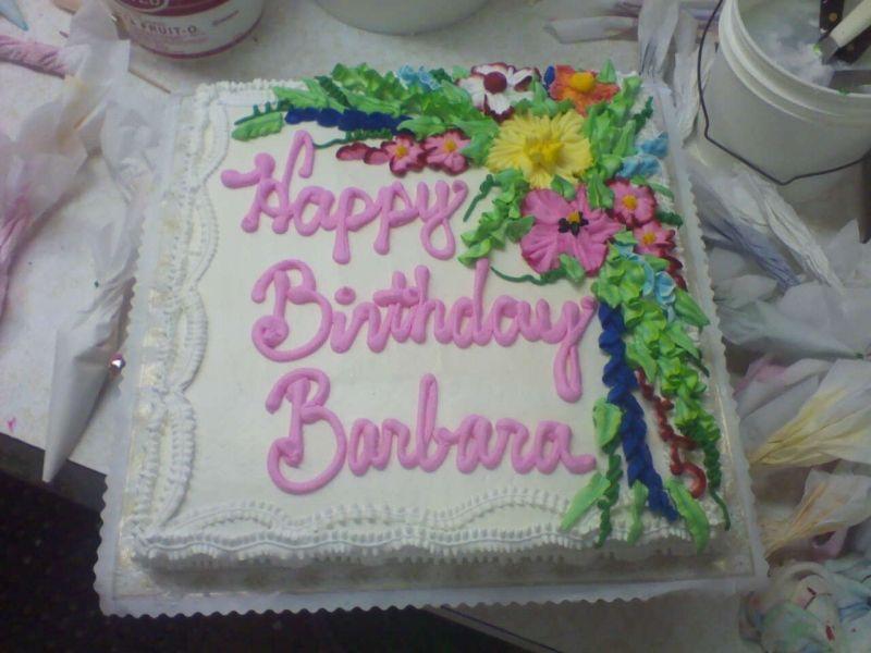 Happy Birthday Barbara Happy Birthday Barbara Happy Birthday Cakes Happy Birthday Michelle