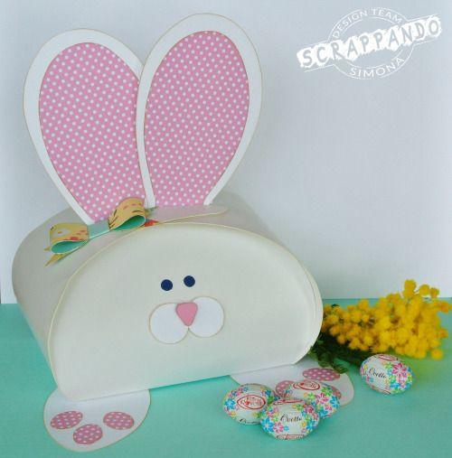 Coniglietto porta ovetti