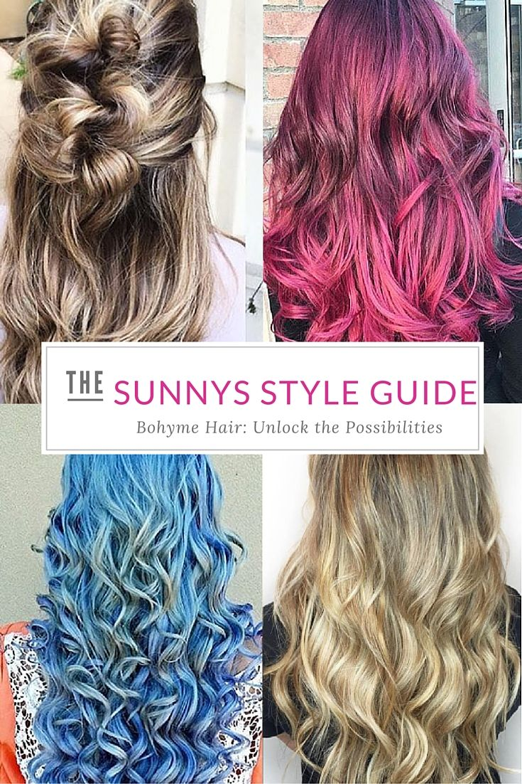 Bohyme Hair Extensions Are Seriously The Best For Color The Blondes