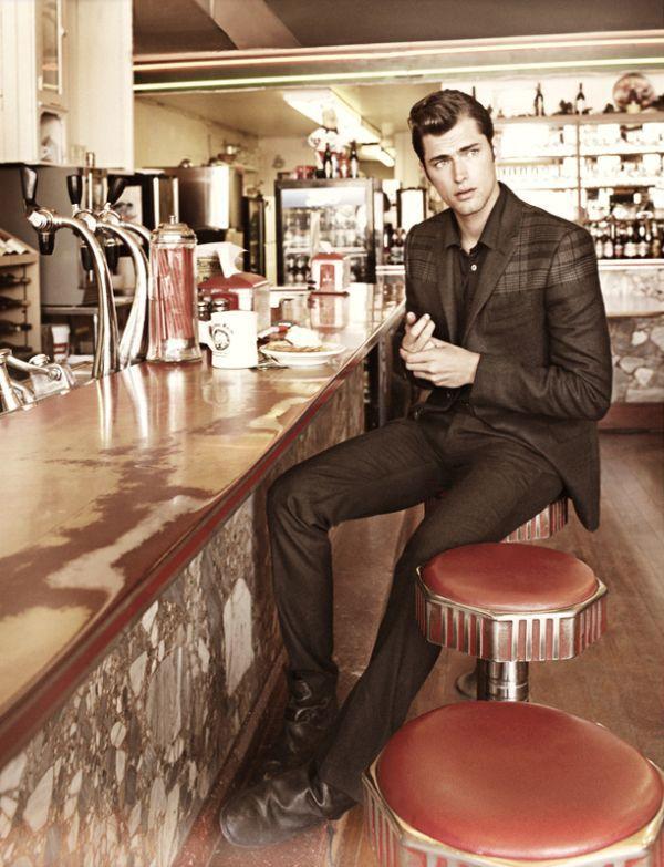 Sean OPry by Guzman for GQ Magazine October 2010   #Greaser #Menswear #Fashion #MensFashion #Rockabilly #TeddyBoy