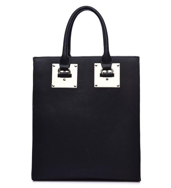 Move Moda Fiorelli Black Structured Tote Bag