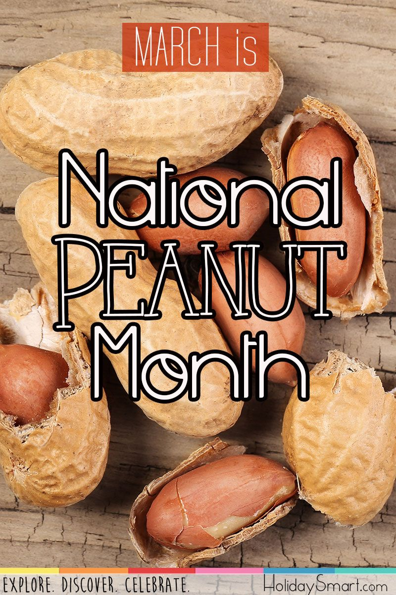 National Peanut Month HolidaySmart American cuisine
