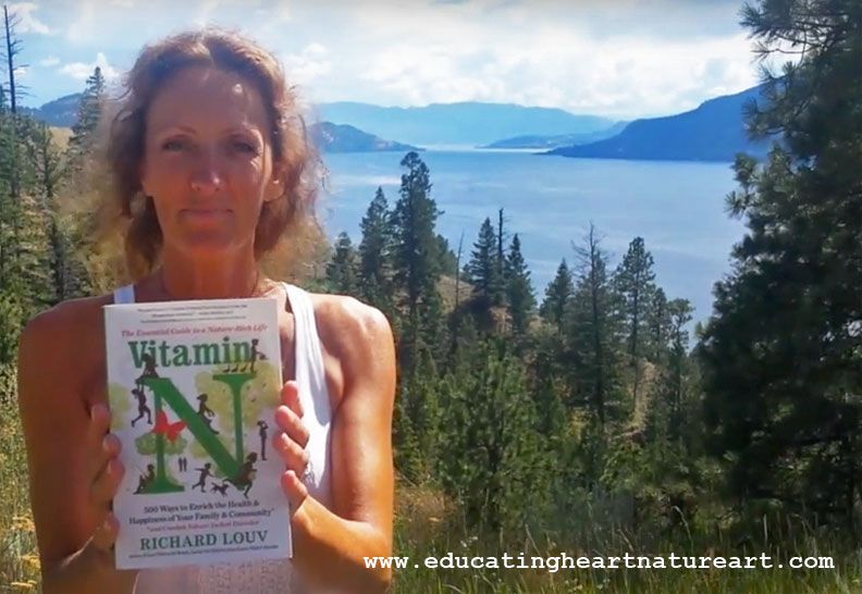 Marghanita On How To Get Intimate With Nature Vitamin N Challenge Vitaminn Http Educatingheartnatureart Com Vitam Challenges Outdoor Classroom Nature Art