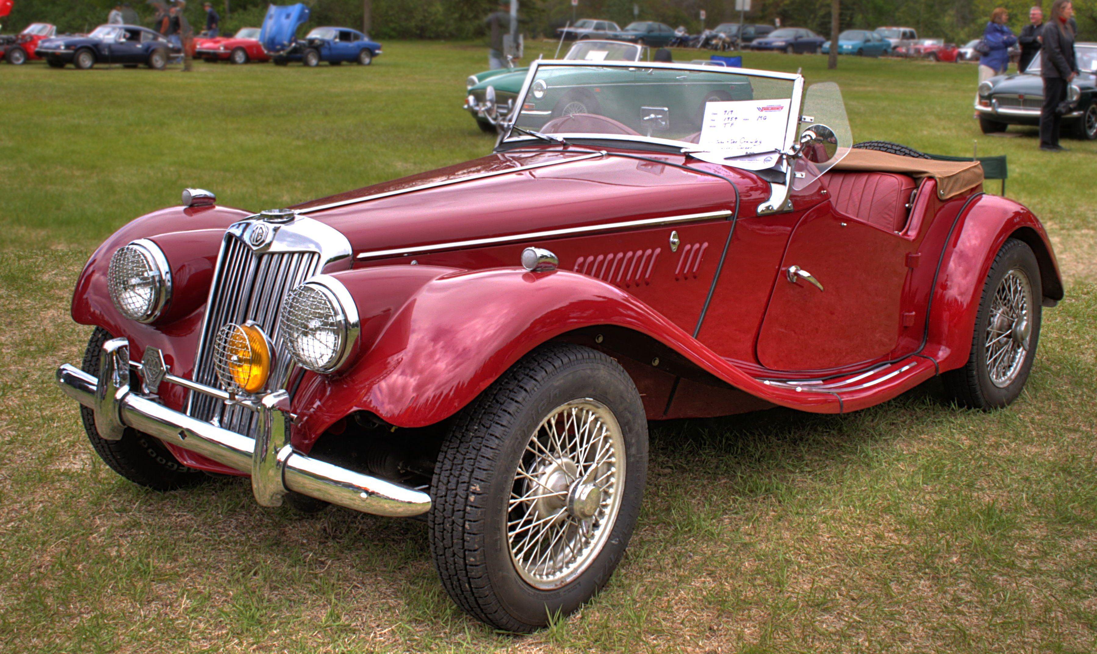 MG: empresa británica de coches sedán, coupé pero, principalmente ...