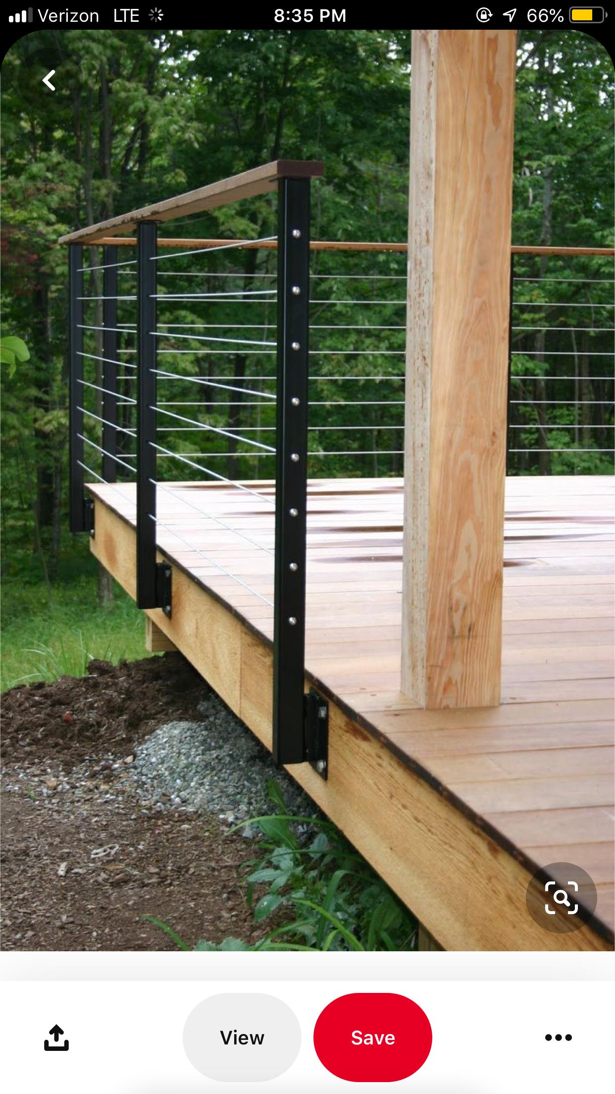 Pin by Flotsam Jetsam on Deck ideas in 2020 | Deck railing ...