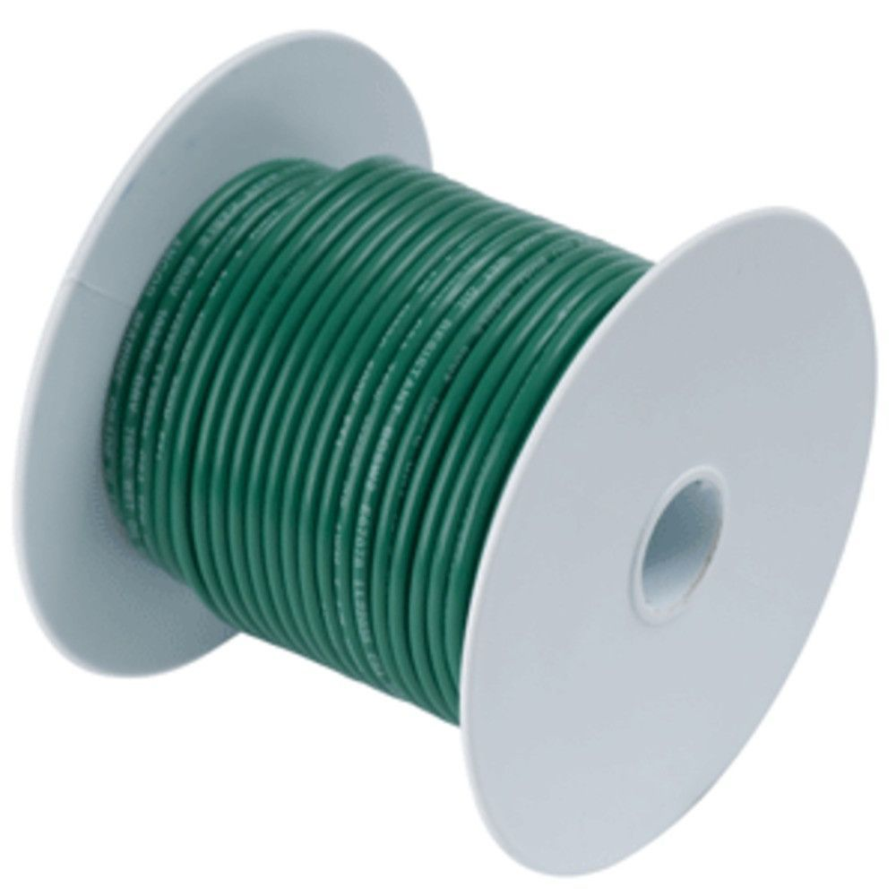 Ancor Green 16 AWG Tinned Copper Wire - 25. Green 16 AWG Tinned ...