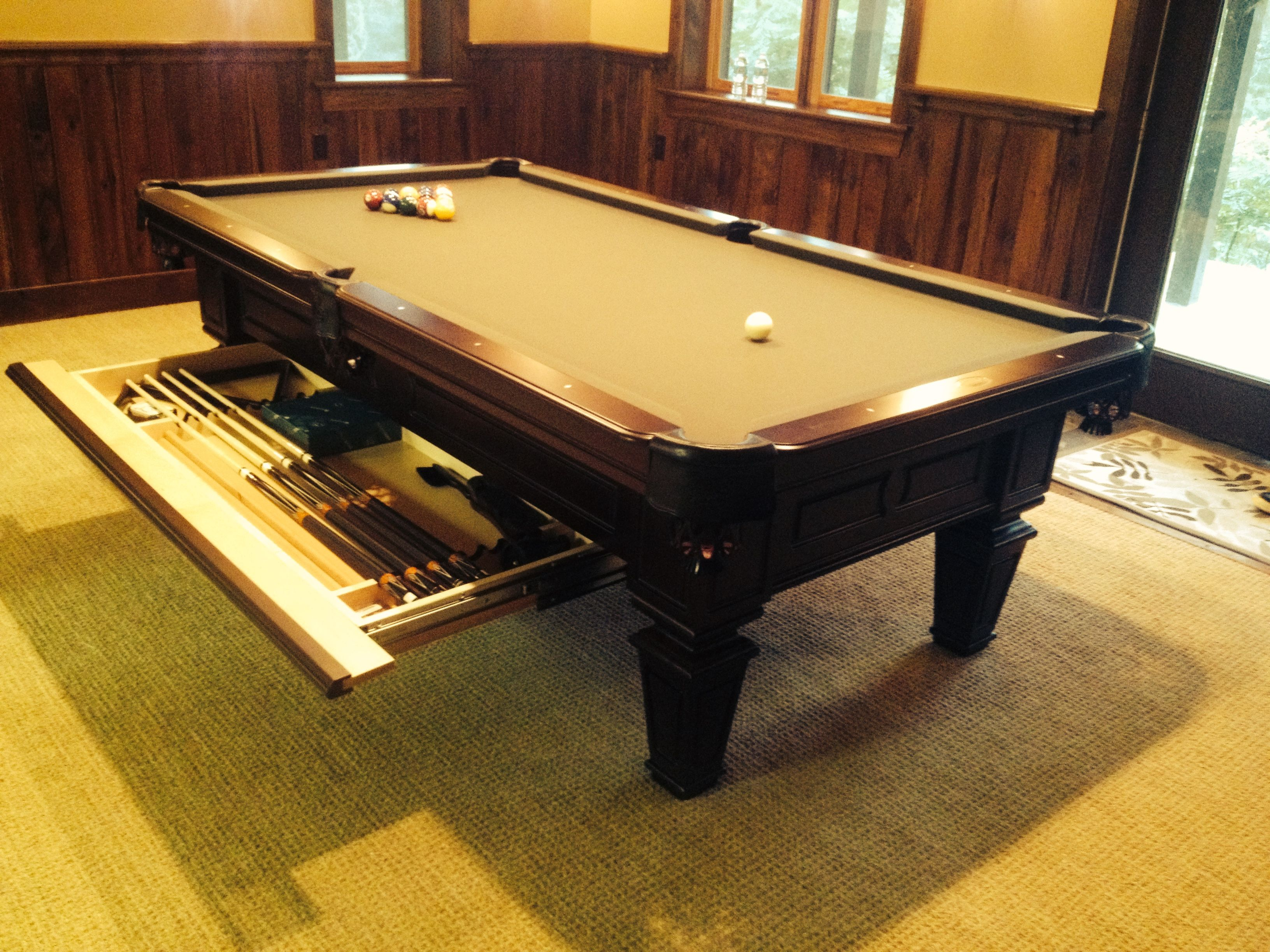 Olhausen Brentwood Pool Table, with Drawer. http ...
