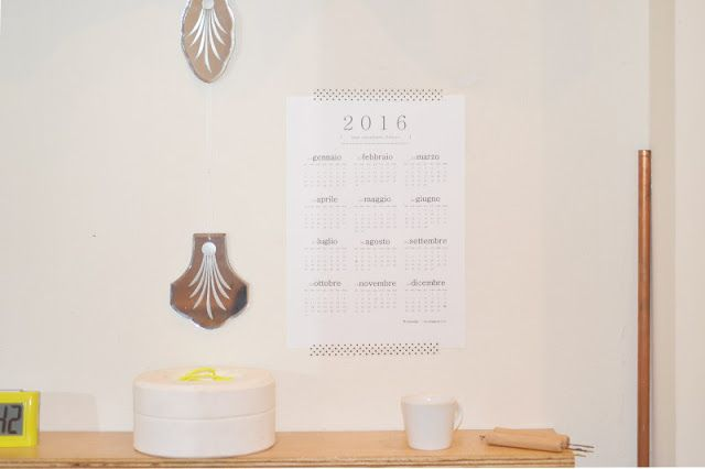 LAUsNOTEbook: Mini Calendario Italiano | Free printable calendar 2016