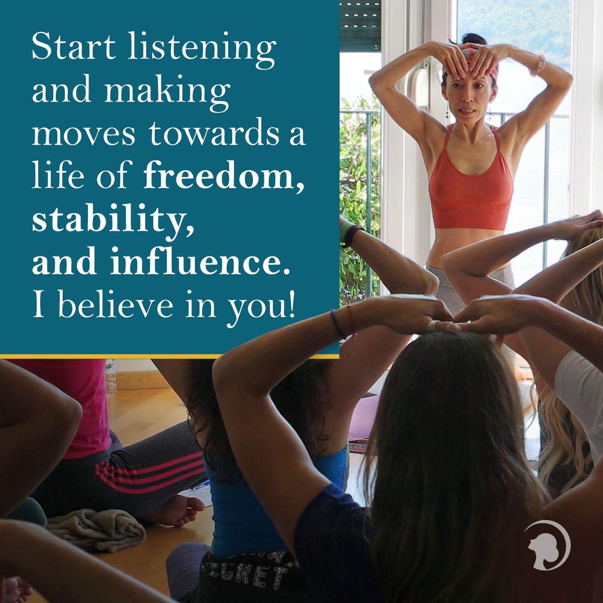 The Secret Behind My Success As A Face Yoga Teacher Face