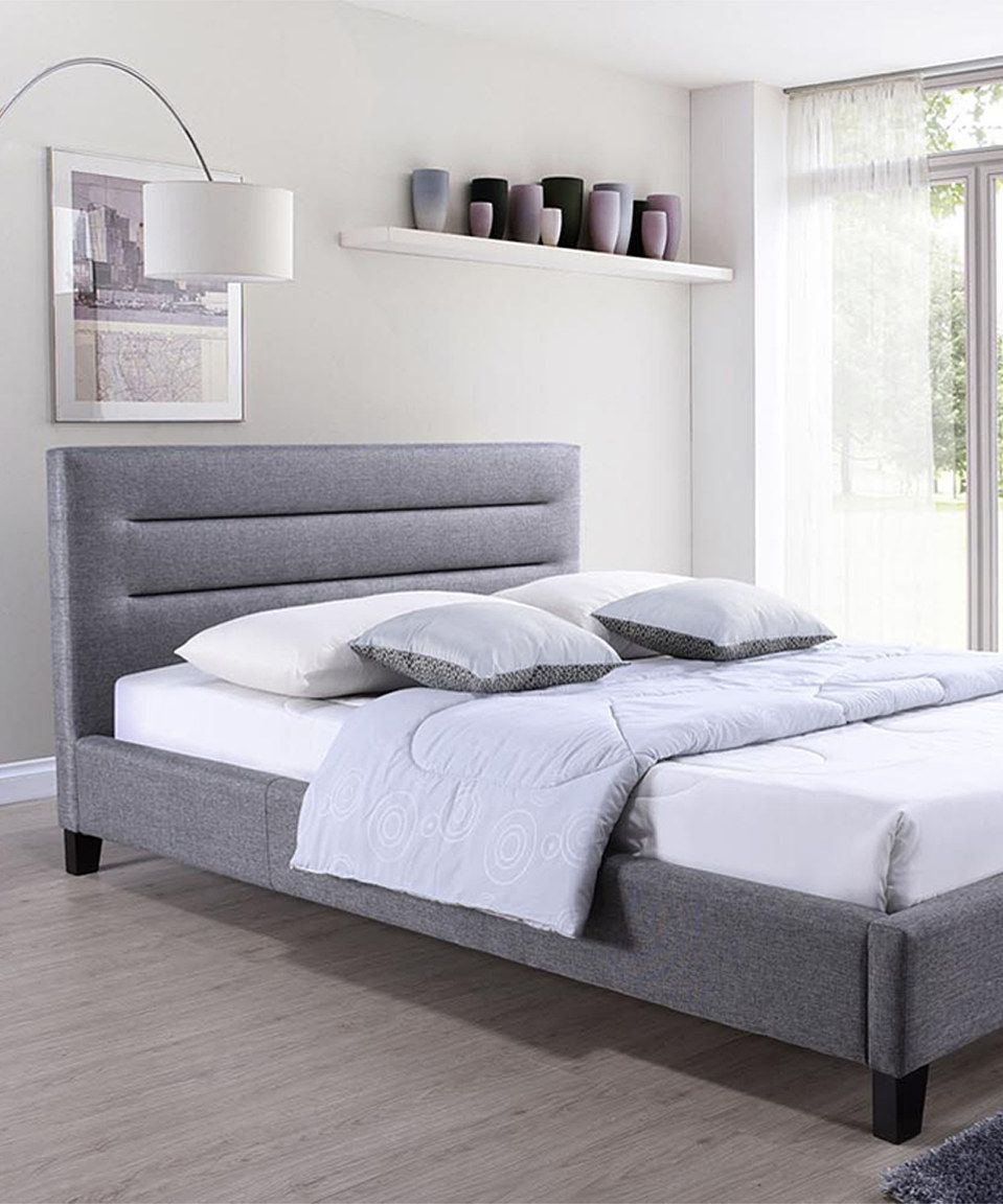 Look what I found on zulily! Gray Hillary Platform Bed