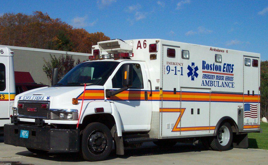 Beware Of Boston Ems Ems Ambulance Ambulance Boston Ems