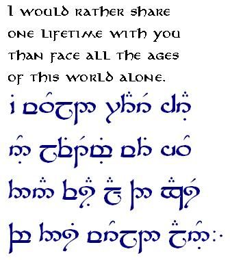 I Would Rather Share One Lifetime With You Than Face All The Ages