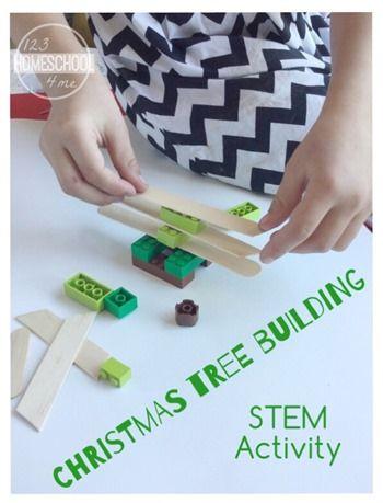 Christmas STEM Activity for Preschool, Kindergarten, 1st grade ...