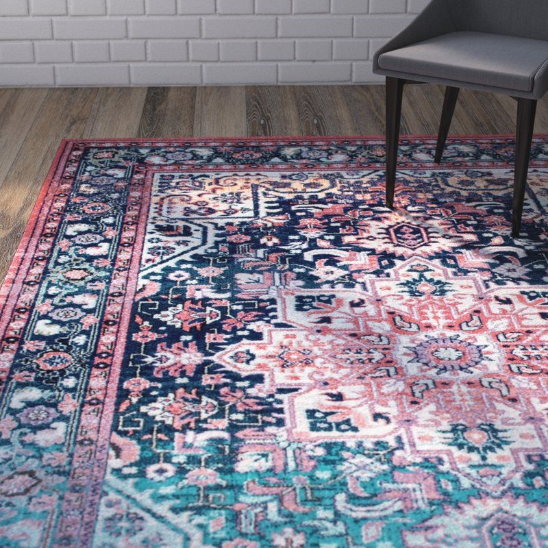 Ardencroft Pink/Blue Area Rug Area rugs, Buying carpet, Rugs