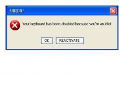 Stupid Computer Error Messages Computer Error Error Message Rage Against The Machine