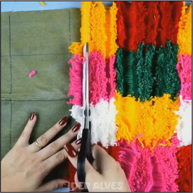 2 Ideias para fazer tapetes fáceis - Faça você mesmo